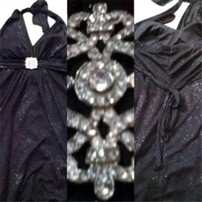 Preload https://img-static.tradesy.com/item/134908/jump-apparel-blacksparkles-glittery-halter-top-worn-once-flowey-above-knee-formal-dress-size-12-l-0-0-650-650.jpg