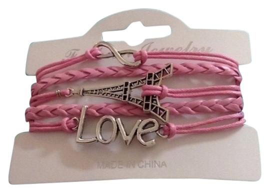 no brand Love, Eiffel Tower bracelet new with cellophane package