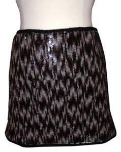Rachel Roy Sequin Mini Size 12 Mini Skirt
