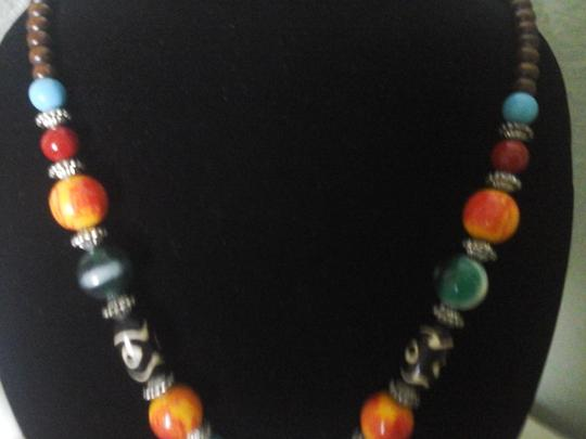 Other Exotic Fashion Jewelry Multi-Color Necklace