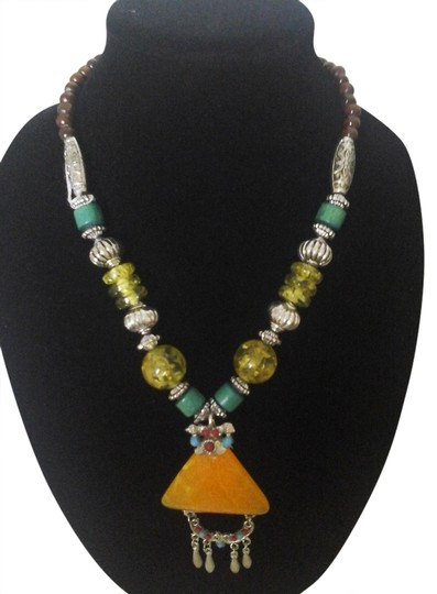 Preload https://item3.tradesy.com/images/unknown-exotic-fashion-jewelry-multi-color-necklace-bohemian-1349262-0-0.jpg?width=440&height=440