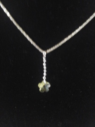 Other Yellow Flower with Six Cubic Zirconia Pendant