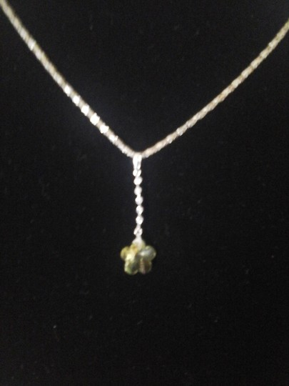 Other Yellow Flower with Six Cubic Zirconia Pendant Image 5