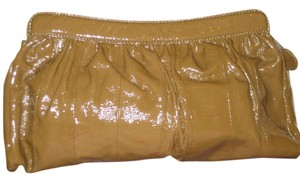 Goldenbleu Made In Italy Fawn brown Clutch