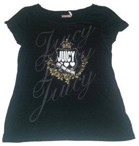 Juicy Couture Bling T Shirt black, gold