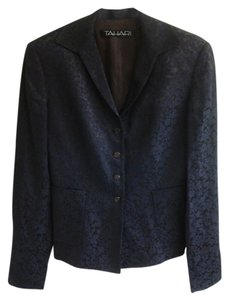 Tahari Brown and blue Blazer