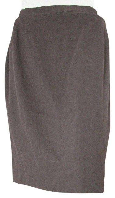 Item - Olive Wool Green/Brown Skirt Size 6 (S, 28)