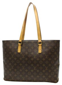Louis Vuitton Lv Luco Neverfull Tote in Monogram