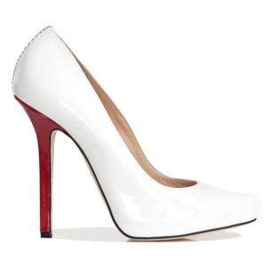 Ryan Haber White Pumps