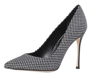 Sergio Rossi Black and white Pumps