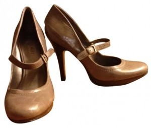 Nine West light brown Pumps