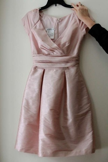 Alfred Sung Pale Pink D500 Vintage Bridesmaid/Mob Dress Size 4 (S)