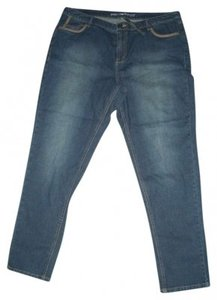 Avenue Straight Leg Jeans-Medium Wash