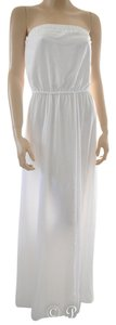 white Maxi Dress by BB Dakota