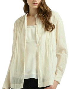Eileen Fisher Button Down Shirt White, ivory,bone