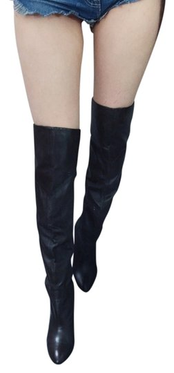 Preload https://img-static.tradesy.com/item/1349966/guess-dark-brown-over-knee-leather-bootsbooties-size-us-7-regular-m-b-0-0-540-540.jpg
