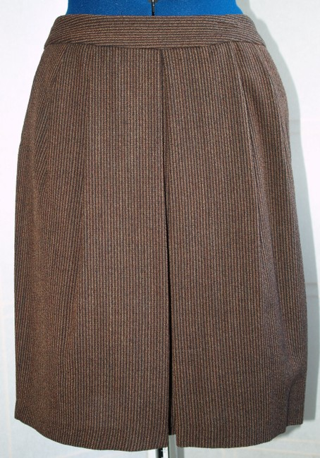 Tara Jarmon Skirt Dark beige and dark brown