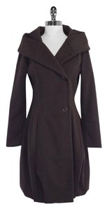 Biella Collezioni Chocolate Brown Coat