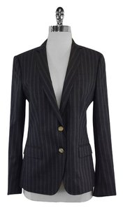 Dolce&Gabbana Charcoal Pinstripe Suit Jacket
