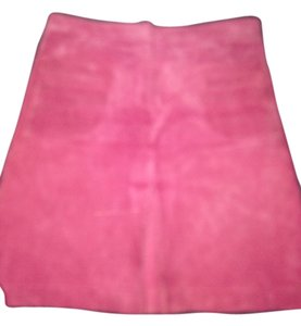 Lilly Pulitzer Lily Suede Mini Skirt Pink