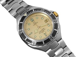 Omega Omega Seamaster 200M Pre-Bond Dive Watch, Date - Stainless Steel & Gold