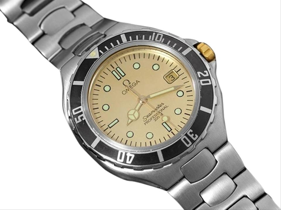 Omega seamaster 200m pre bond dive watch date stainless - Omega dive watch ...
