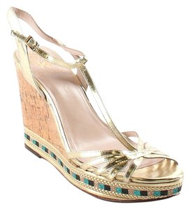Vince Camuto Metallic Gold Sandals
