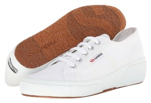Superga Sneakers Tennis Women Size 9.5 Men Size 8 White Athletic
