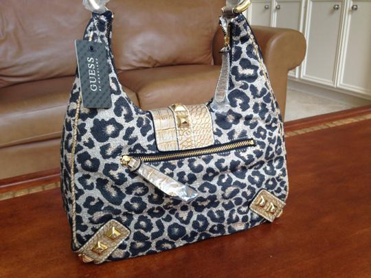 Guess By Marciano Protective Plastic Tiny Scratch Stud Hobo Bag