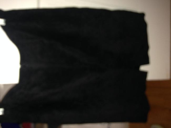 Lord & Taylor Black Suede Skirt Size 12 (L, 32, 33) Lord & Taylor Black Suede Skirt Size 12 (L, 32, 33) Image 2