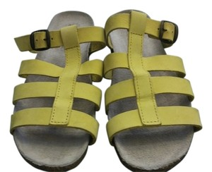 White Mountain Yellow Sandals