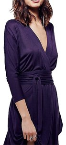 Free People short dress Eggplant(Purple) on Tradesy
