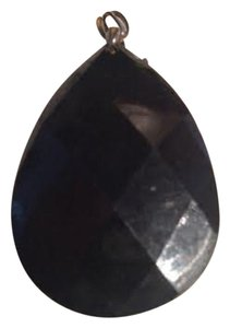 Other VINTAGE PENDANT - JET-LIKE TEARDROP (FREE SHIPPING)
