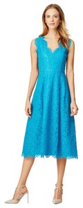 Shoshanna Nwt Lace V-neck Blue Wedding Dress
