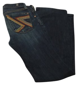 7 For All Mankind 28 Xs Boot Cut Jeans