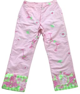 Lilly Pulitzer 2 Straight Pants Pink