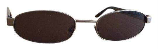 Gucci Gucci Black and Silver tone Sunglasses