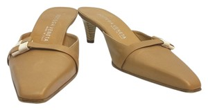 Bottega Veneta Camel Leather Sandals