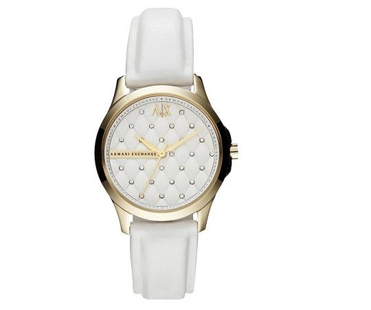 Preload https://item3.tradesy.com/images/ax-armani-exchange-with-bonus-crystal-quilted-dial-leather-strap-watch-1350637-0-0.jpg?width=440&height=440