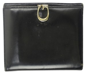 Gucci Black Leather Wallet GGAV29