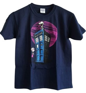 Dr. Who T Shirt BLACK