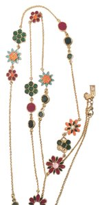 Kate Spade Multicolor Station Necklace