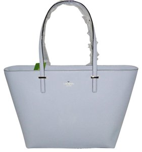 Kate Spade Leather Pxru4423 Stunning Tote in Mysticblue