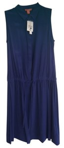 Joe Fresh short dress Royal Blue on Tradesy