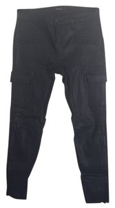 J Brand Cargo Pants Black with sheen