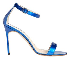 Manolo Blahnik Limited Edition Blue Pumps