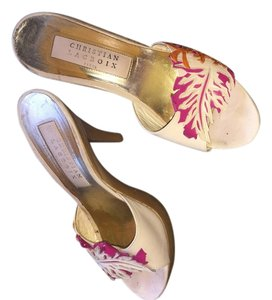 Christian Lacroix Tan Platforms