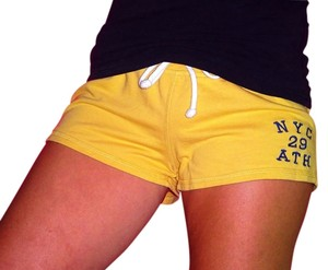 Forever 21 Yellow Sumer Beach 21 Boyfriend Shorts Yellow Canary
