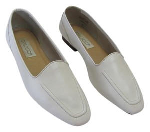 Calico Leather Size 8.50 M (Usa) New White Flats