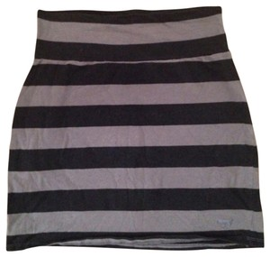 Victoria's Secret Mini Skirt Black/Gray